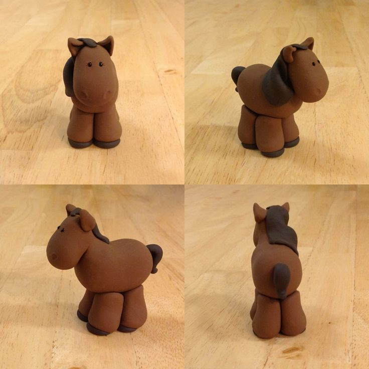 Expressive Creativity: Nativity - Horse - can also be made out of fondant.