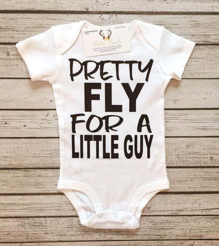 Pretty Fly For a Little Guy Bodysuit Baby Boys Bodysuits Pretty Fly For A Small Guy Boys Shirts by RagazzoBelloCo on Etsy https://www.etsy.com/listing/475701935/pretty-fly-for-a-little-guy-bodysuit