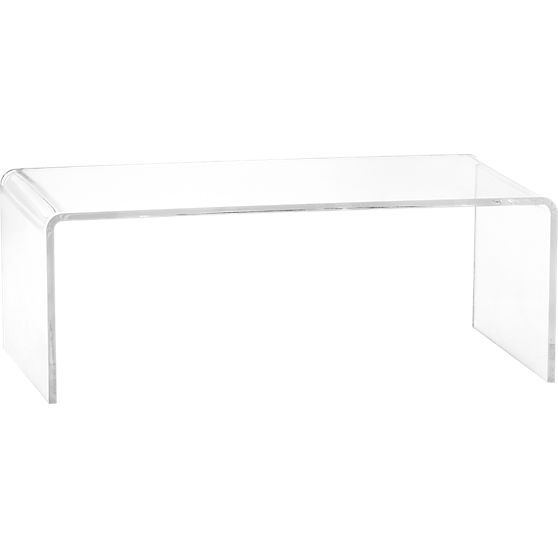 Peekaboo Acrylic Coffee Table Clear Coffee Table Home And Coffee