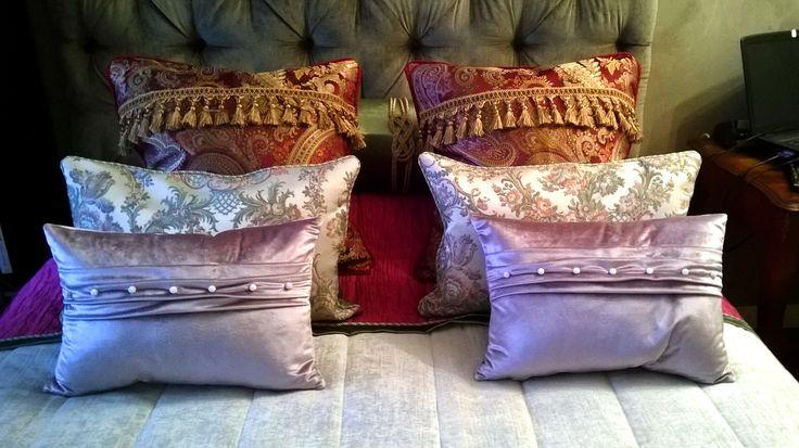 Подушки. Комплект для спальни в марокканском стиле