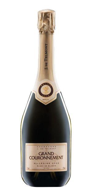 #Edel Champagner #Millesime  Champagne J. de Telmont Kultur 24 Bewusst - Handelsagentur, Markenvertrieb