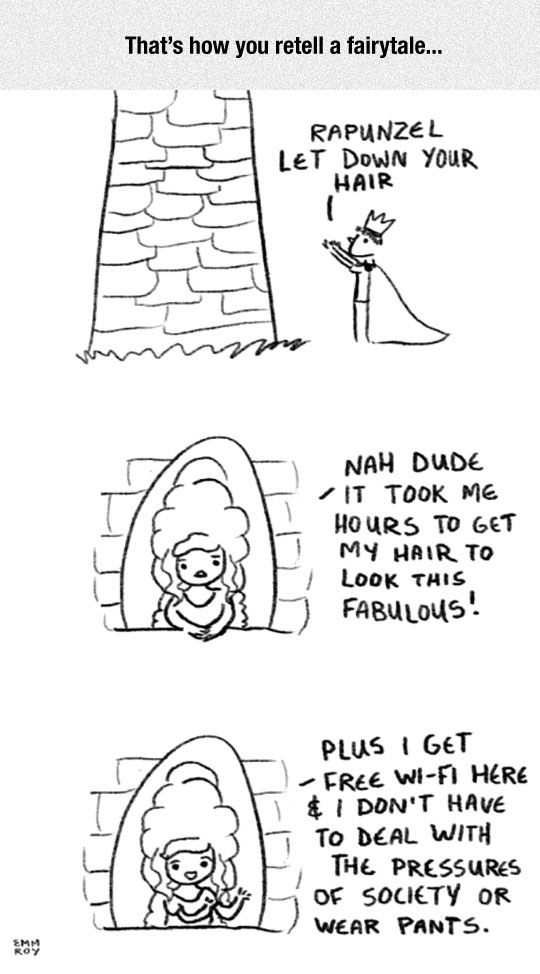 The New Rapunzel: