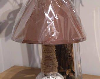 Table lamp, whisky Chivas bottle lamp, Lamps