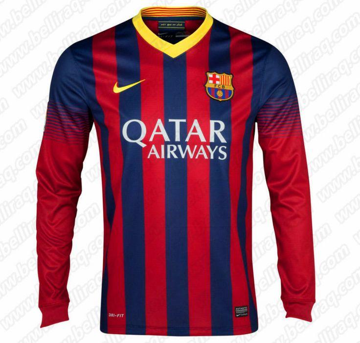a96d86cd693 barcelona 15 bartra home long sleeves mens adults 2016 2017 club ...