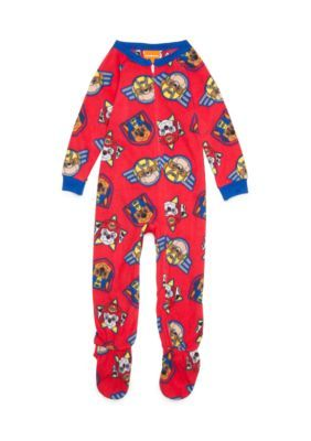 Nickelodeon™ Paw Patrol Fleece Footed Pajamas Toddler Boys - Red - 3T
