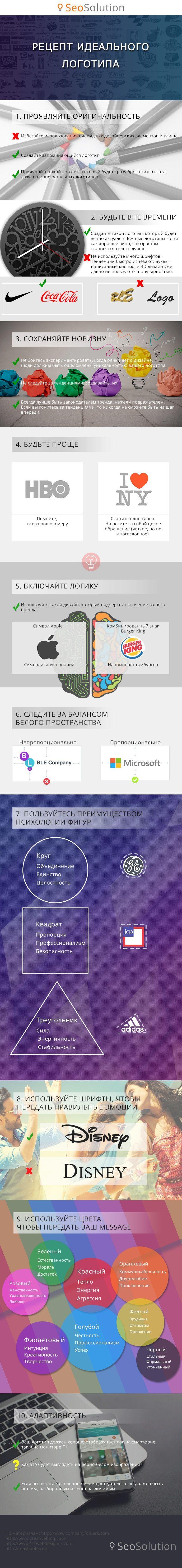 Как создать фирменный и запоминающийся логотип