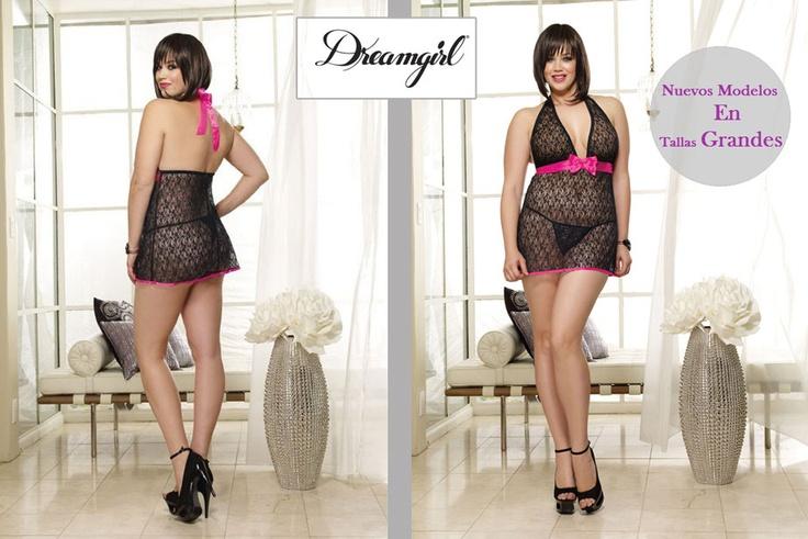 DreamGirl Lenceria; Nuevos Modelos en Tallas Grandes