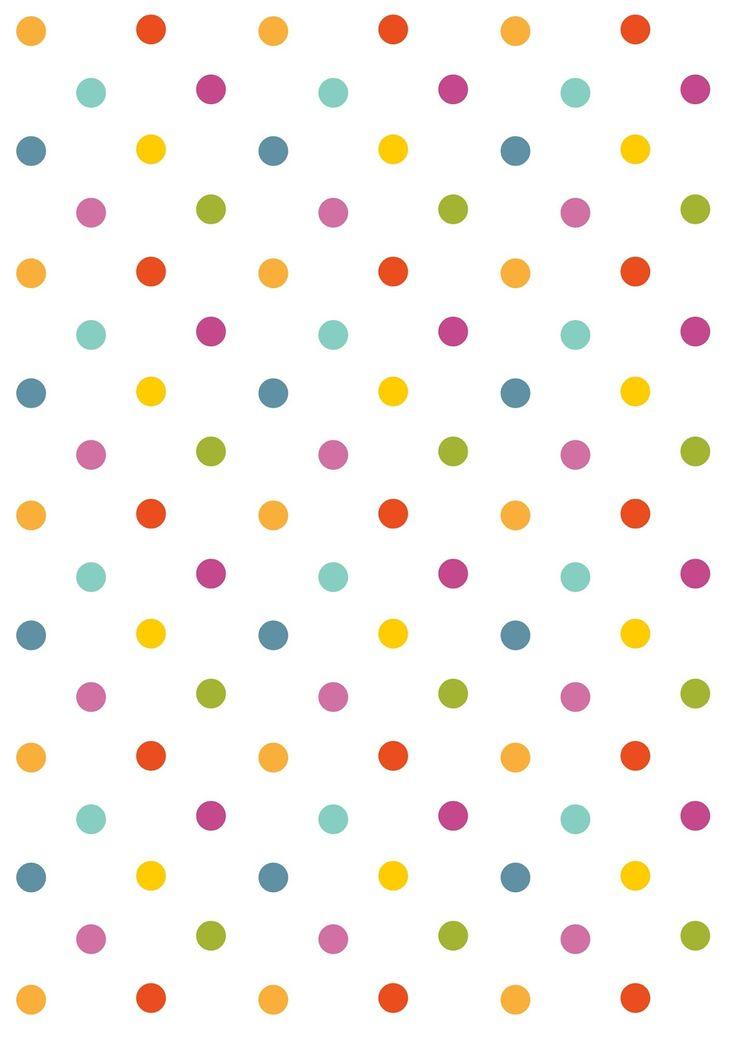FREE printable polka dot pattern paper   polkadot