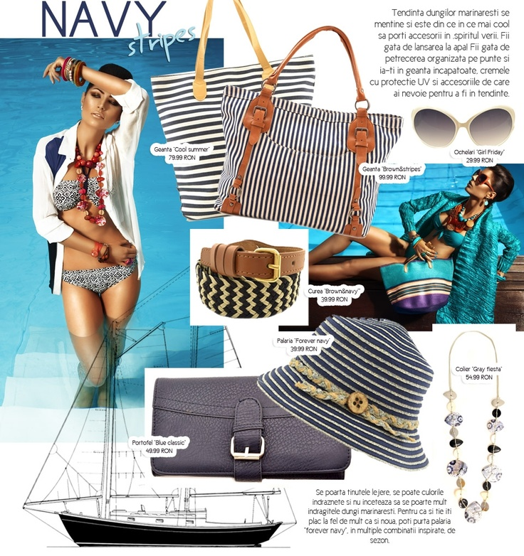 Navy Chic Style