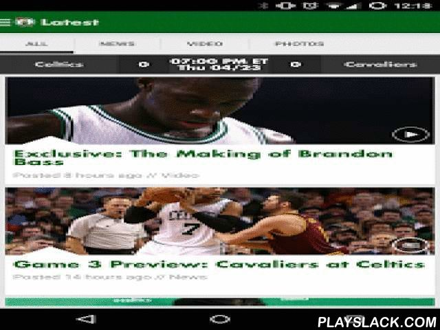 Boston Celtics  Android App - playslack.com ,  Hey Celtics fans! We've overhauled our official app to make it easier for you to keep up with your favorite team. From the most recent news, videos and galleries to player profiles and live shows, you can get it all on the new Boston Celtics mobile app. We've made it easier to find game tickets so you can get the best seat in the house - and if you're already at the game, you can upgrade your seats directly from the app.You can also use the app…