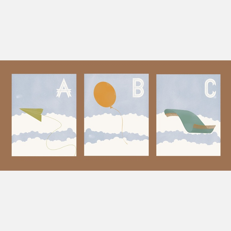 Fab.com | Flight Alphabet Series 11x14