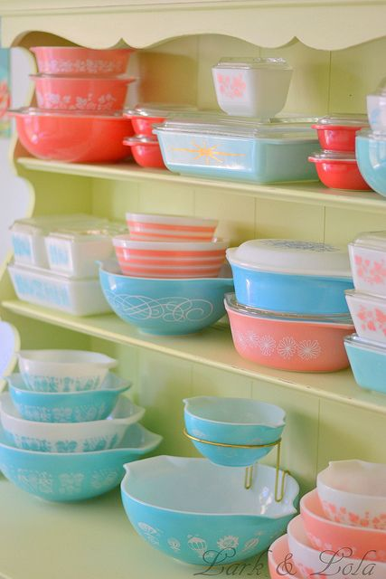 Pyrex collection - hkatee on flickr