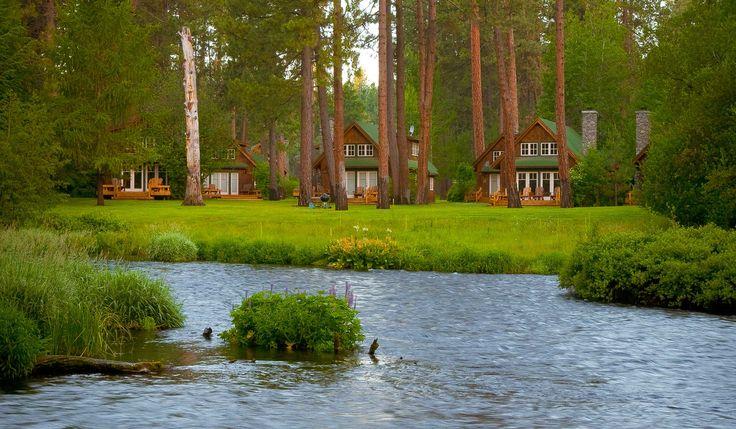 Metolius River Resort Camp Sherman Oregon Lodging