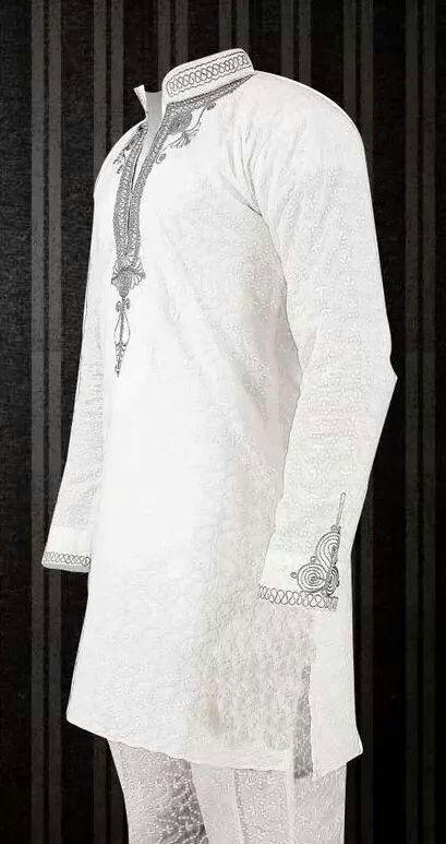 Kaftan dress with jolomi design