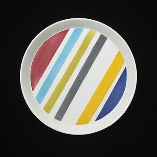 a Gio Ponti plate - Modernist 20th Century - 1970s