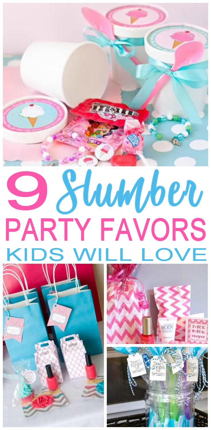 Party Favors The Best Slumber Ideas That All Kids Will Love For Boys And S Goo Bag Favor Bags Candy More