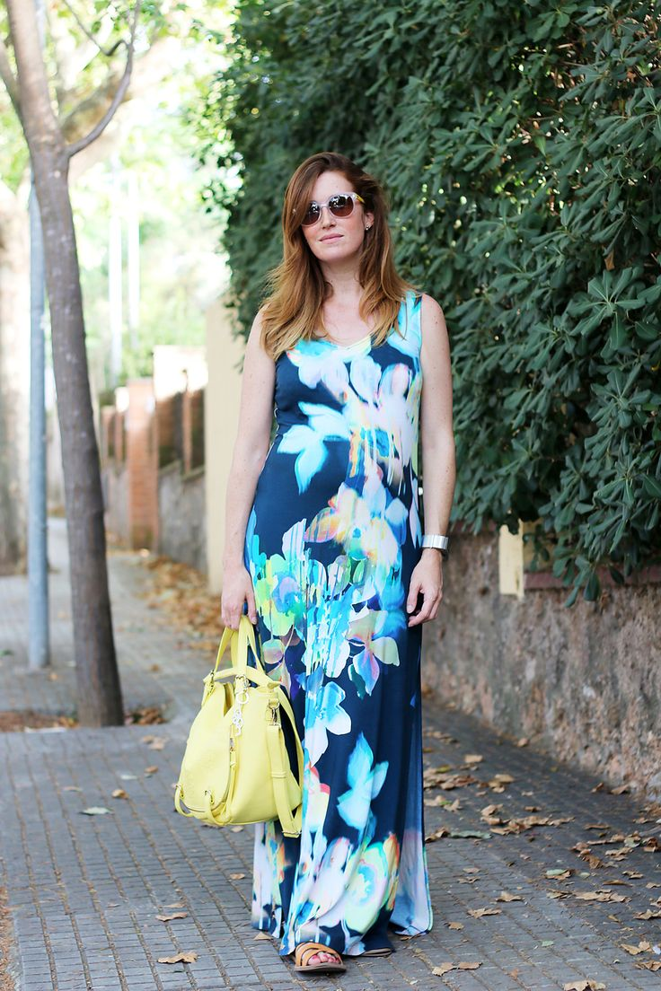 Expecting a baby!  Maxi dress