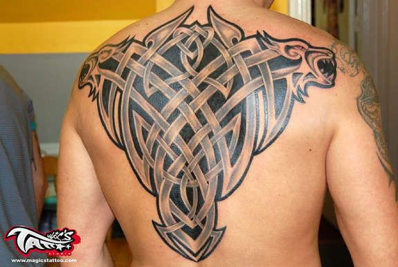 Irish Celtic Tattoos Knot, Trinity, Harp, Band (29)