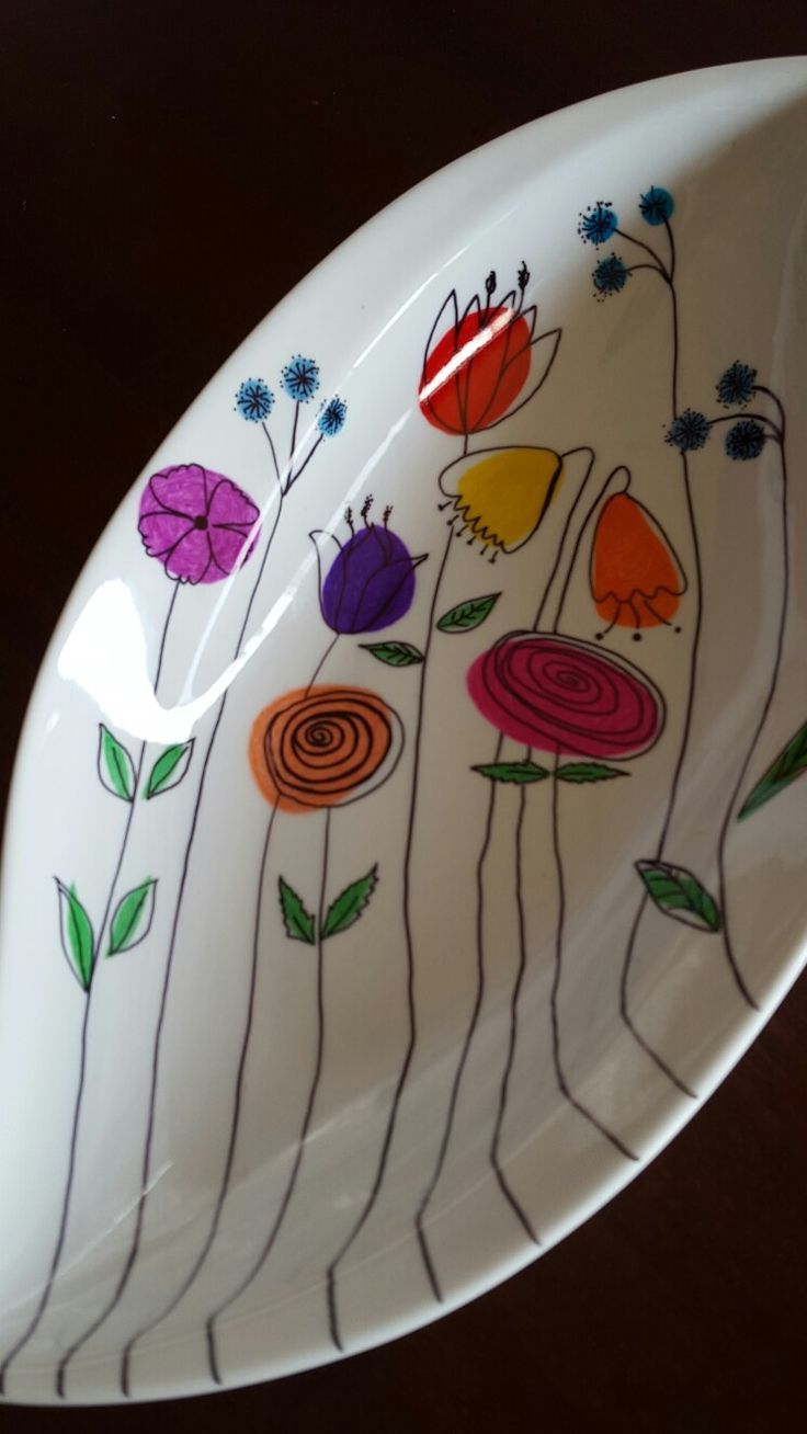 My Sharpie serving dish ♡
