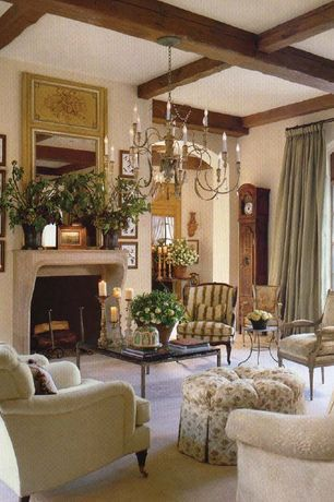 traditional living room with french doors cement fireplace rh pinterest com