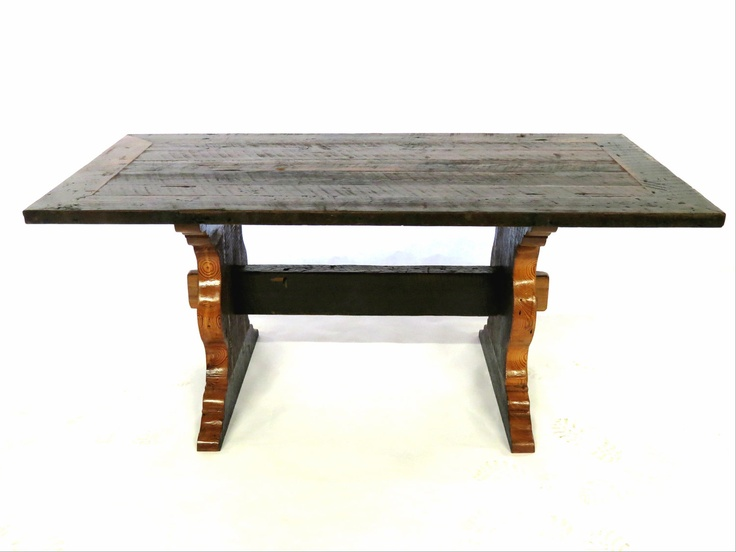 French Country Table   Historic New Orleans Reclaimed Wood   Southern    Rustic Elegance. $995.00