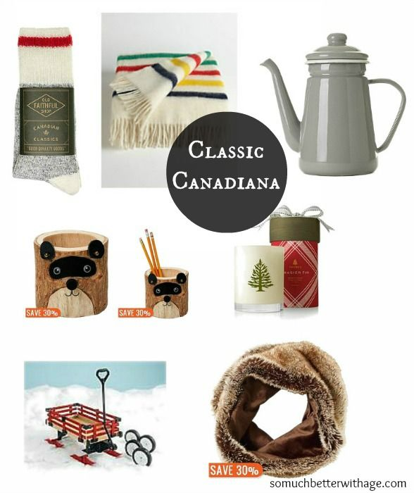 Classic Canadiana - - great gift ideas!