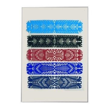 na ścianę-Folk Art Papercuts COLLAGE (from Kurpie Region)