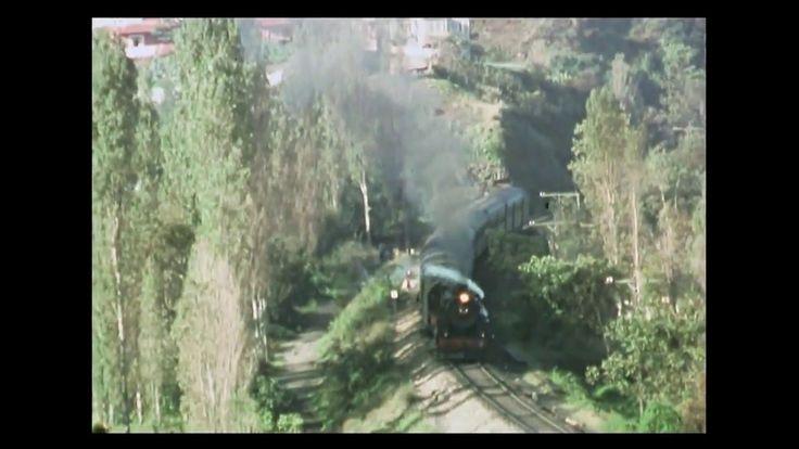 Çaycuma-Zonguldak Arasındaki Buharlı Banliyö Treni (Kara Tren) - 1980'ler
