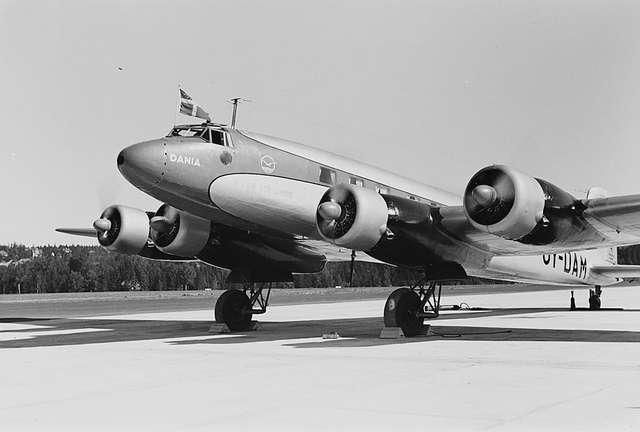 Focke-Wulf Fw 200 Dania of DDL - Danish Air Lines in Oslo 1939