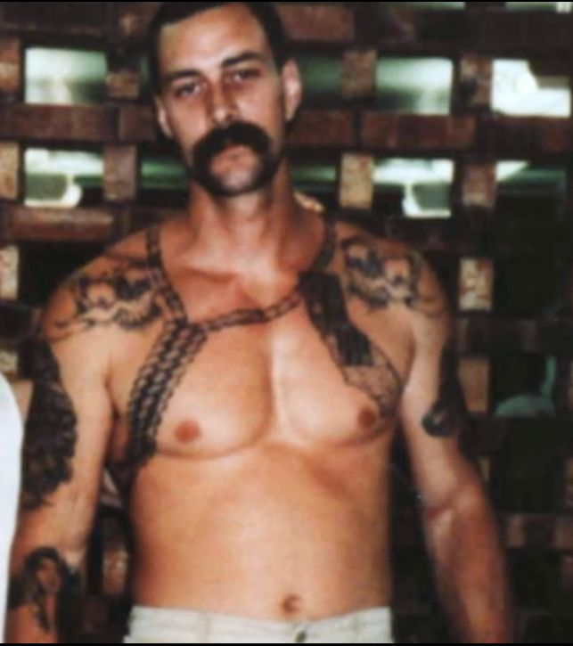 """National Geographic Explorer: Aryan Brotherhood - Mark Nyquist, 6'3"""" and weighed 240 pounds http://www.pitch.com/kansascity/hard-cell/Content?oid=2173099"""