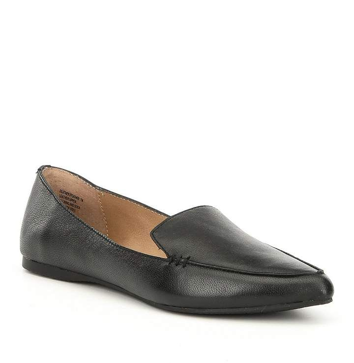 650d1bccf8b Steve Madden Feather Leather Loafers