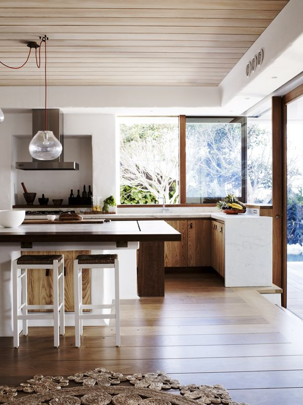 Cali-inspired kitchen