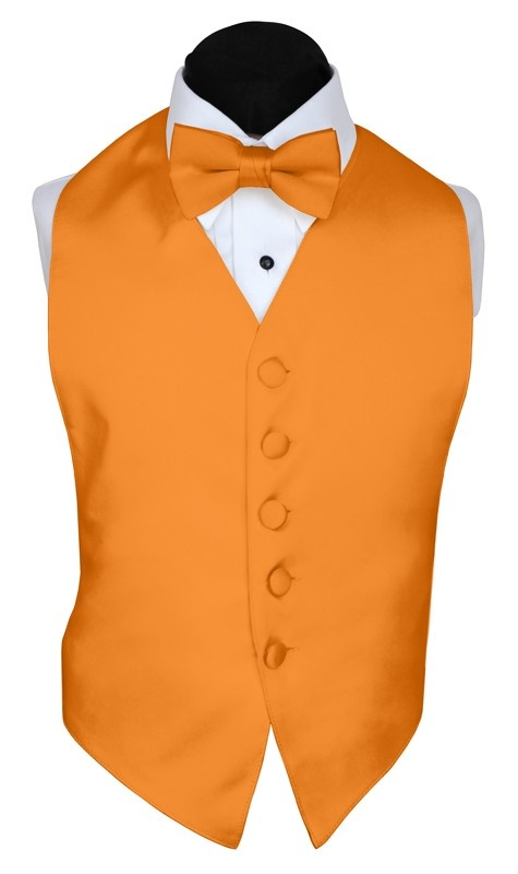 Groomsmen vest...Orange vest, maybe wear with a camo tie..