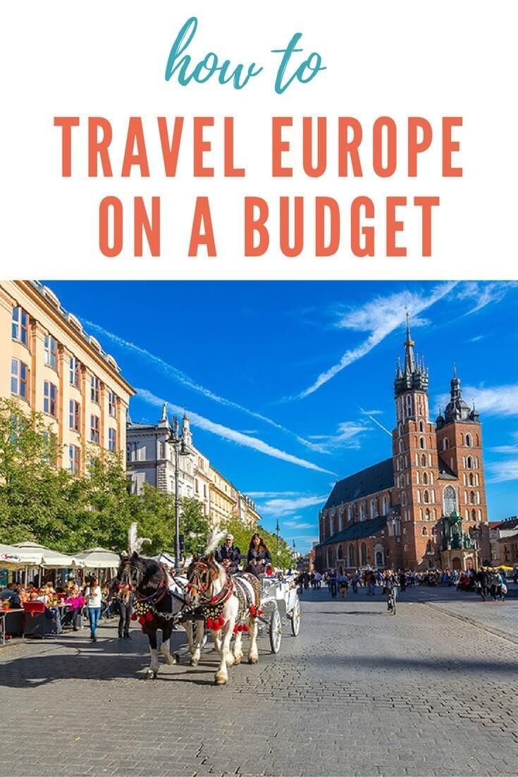 Some great travel tips on how to travel europe on a budget, plus 5 budget European destinations to cover all travel interests that will make your money go further. Click to read more. Happy pinning!