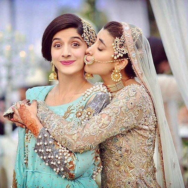 Sisters make everything better  @mawrellous @urwatistic ✨ #pakistanibride #pakistanibridal #pakistanistyle #fashion #weddings #desifashion #bridalfashion #bffs #sisters #bffgoals #sister #sistersister #weddingseason #bridalinspo #bridalblogger #weddings #nikkah #shaadiseason #urwahocane #urwafarhan #mawrahocane #prettybride #bridesmaids #weddings2017 #asianbridal