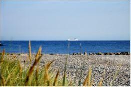 Kalifornien Ostsee Strand am frühen morgen