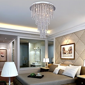 Lindo lustre de cristal para decorar o quarto ou a sala de sua casa!