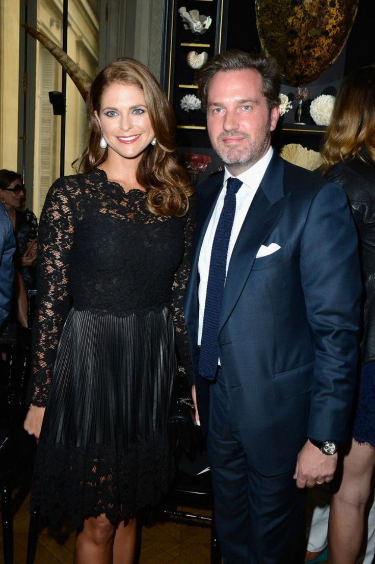 MYROYALS  FASHİON: Princess Madeleine and Chris O'Neill attended the Valentino show as part of Paris Fashion Week