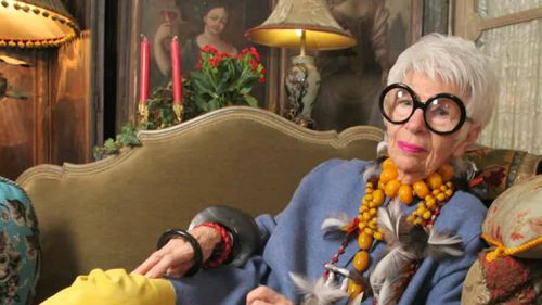 American Icon Iris Apfel on Individualism, Freedom of Expression and Great Style - NYTimes.com