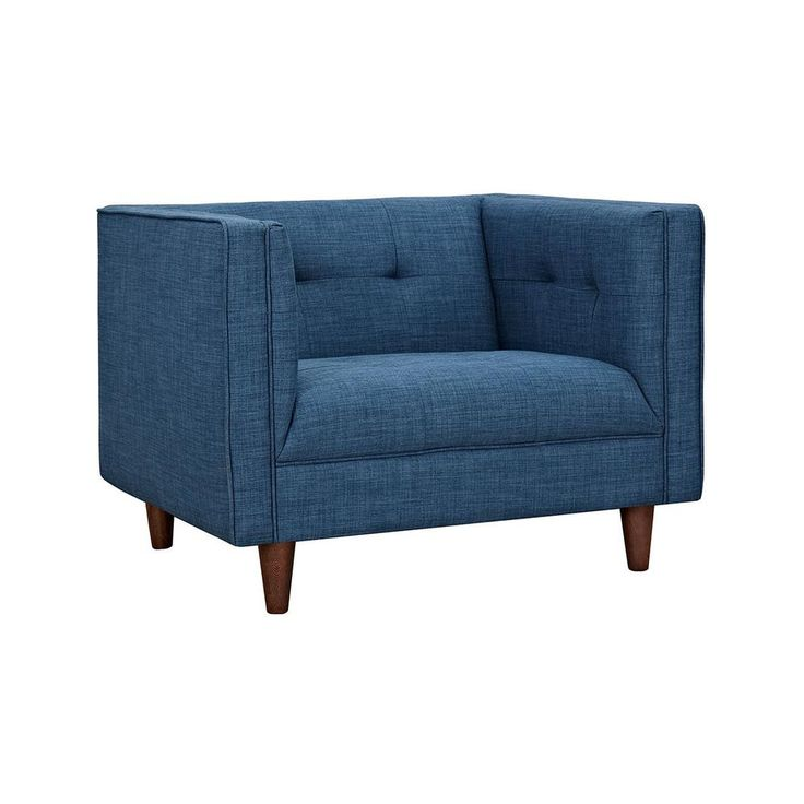 The Sterling Armchair in Blue | dotandbo.com