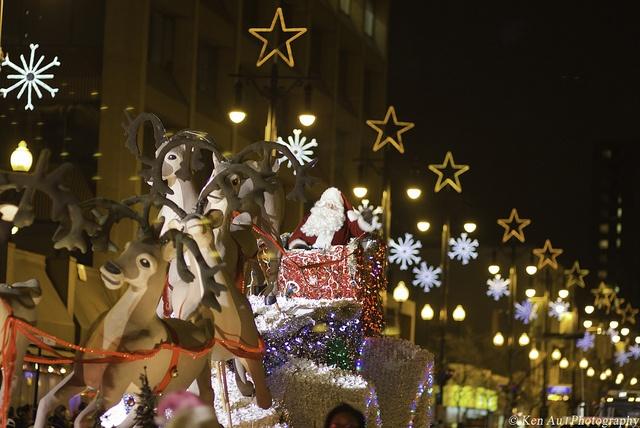Santa Claus Parade, Winnipeg, Manitoba.
