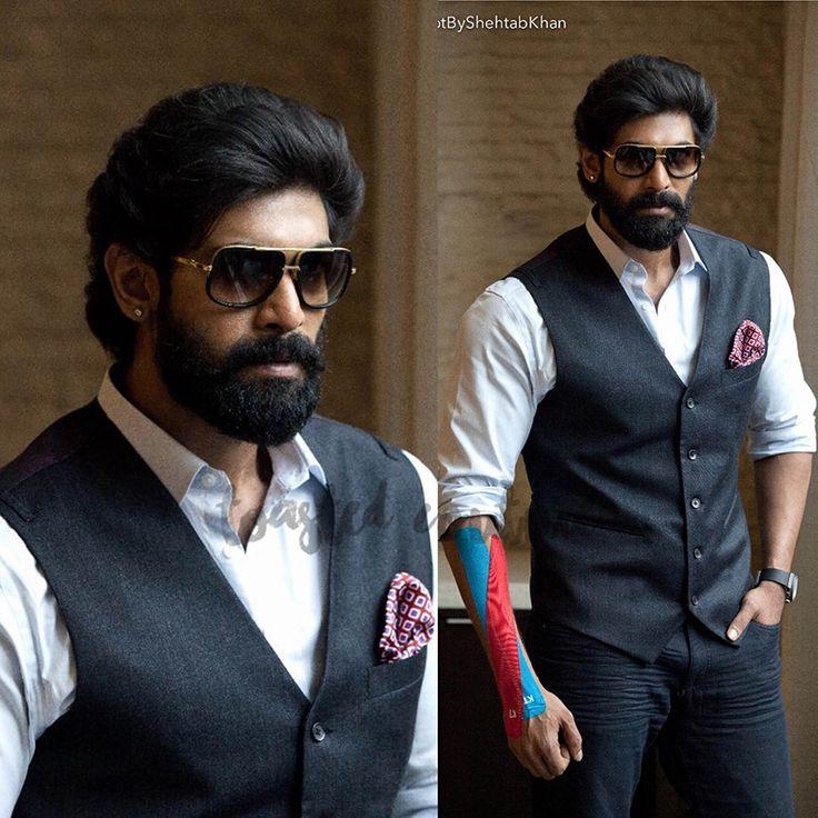 Rana daggubati, siima press meet, tollywood actor, clothes worn by rana daggubati