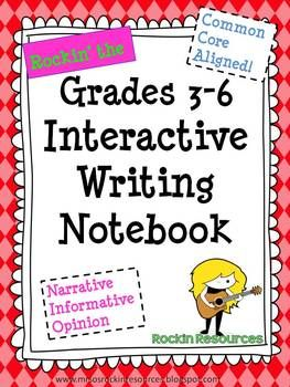 400 pages of Interactive Writing Notebook ideas, activities, lessons, slides, forms, rubrics, etc.  Everything needed to teach writing for the year!