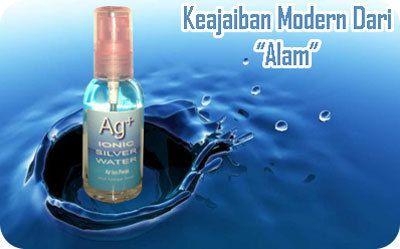 Ionic Silver Water - Ion Perak (Ag+ S60) Multifungsi, Sehat Alami Tanpa Obat