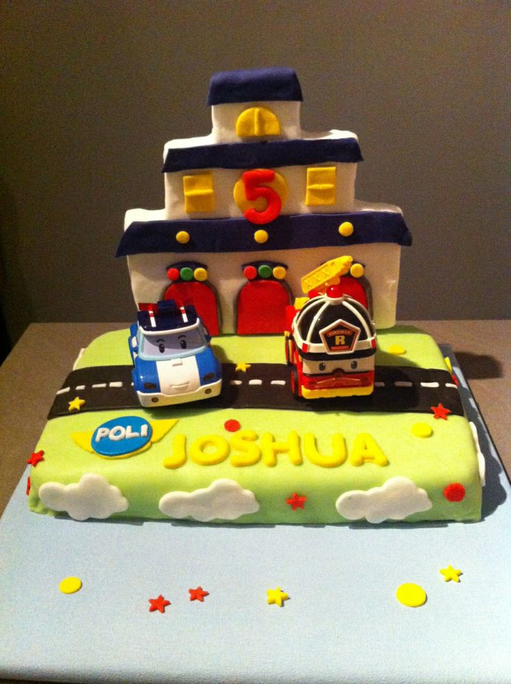 Robocar Poli Cakes And Pinterest
