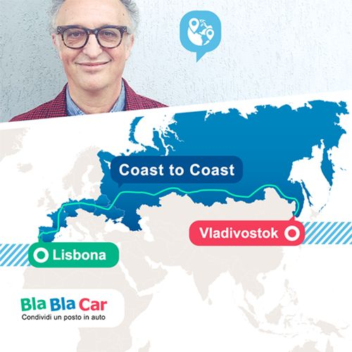 Viaggi: #Carlo #Alberto #Cavallo: da Lisbona a Vladivostock con Bla Bla Car (link: http://ift.tt/2hGo7o4 )