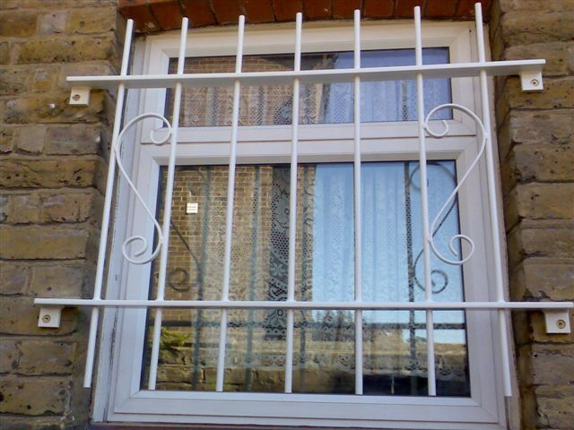 RSG2000 decorative security window bars fitted to a residence in Wimbledon.