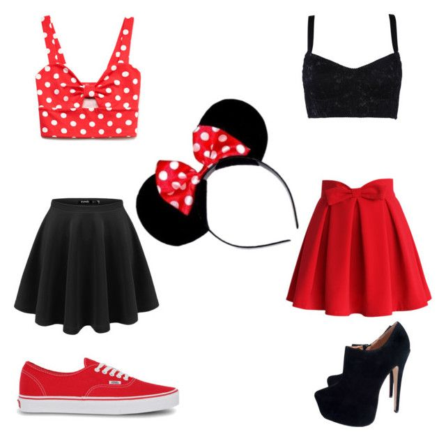 """Cute mini mouse costumes"" by tysma-kirkham on Polyvore"