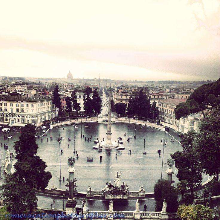 #Piazza del Popolo #Rome
