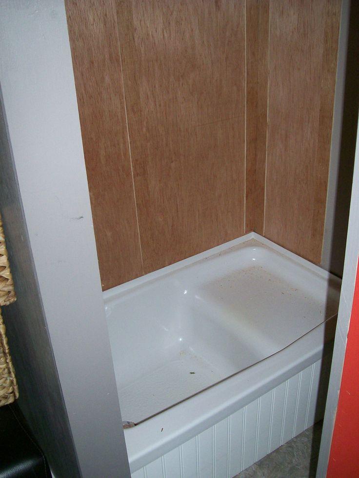 Teeny Tiny And The Bath Tub Set Up Tiny House Bathrooms